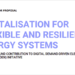 Convocatoria para proyectos piloto de digitalización para sistemas energéticos flexibles y resilientes