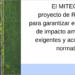 Consulta pública del proyecto de Real Decreto que modifica la Ley de evaluación de impacto ambiental