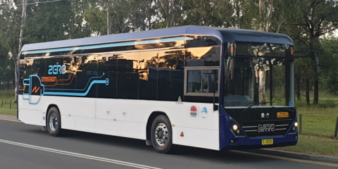 La estación de carga Sicharge UC eBus de Siemens dará soporte a un prototipo de autobuses eléctricos